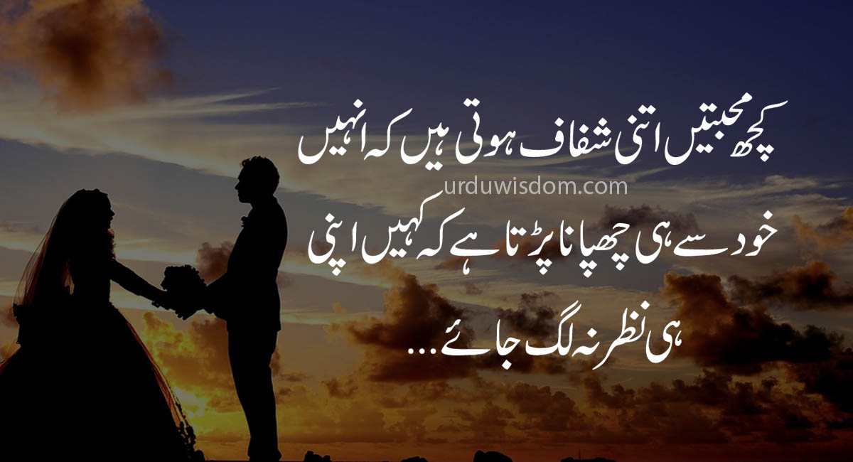 Quotes about love in Urdu